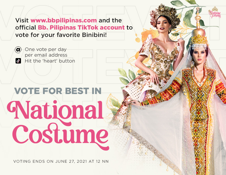 Best in National Costume Voting